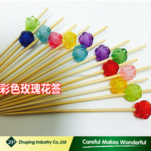 ZHUPING cheap bamboo beaded picks manufacturer for party
