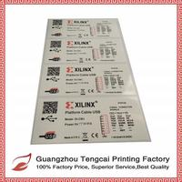 Waterproof Custom Vinyl Logo Sticker and Color Printed Paper Sticker Sheet