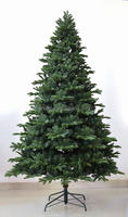7.5' high quality dense ceramic lighted christmas cone tree