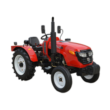 clearance height LZ404 40hp 4wd agriculture tractor with loader and backhoe