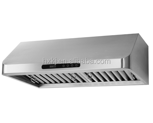 Self Venting Cooktops ~ Stainless steel body self venting ultra thin kitchen range
