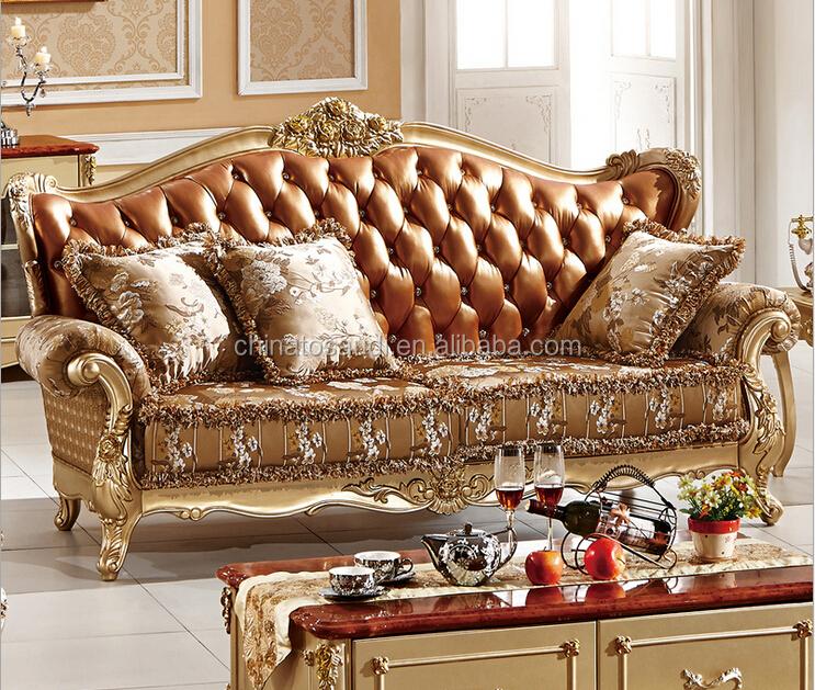 High end luxury living room furniture sofa set designs for High end living room furniture