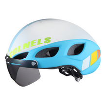 2017 Colnels two sunglasses road bike helmet L/M size adult outdoor helmet for bike [Free shipping via Airmail]