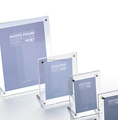 Custom clear acrylic table menu display frame acrylic photo display frame