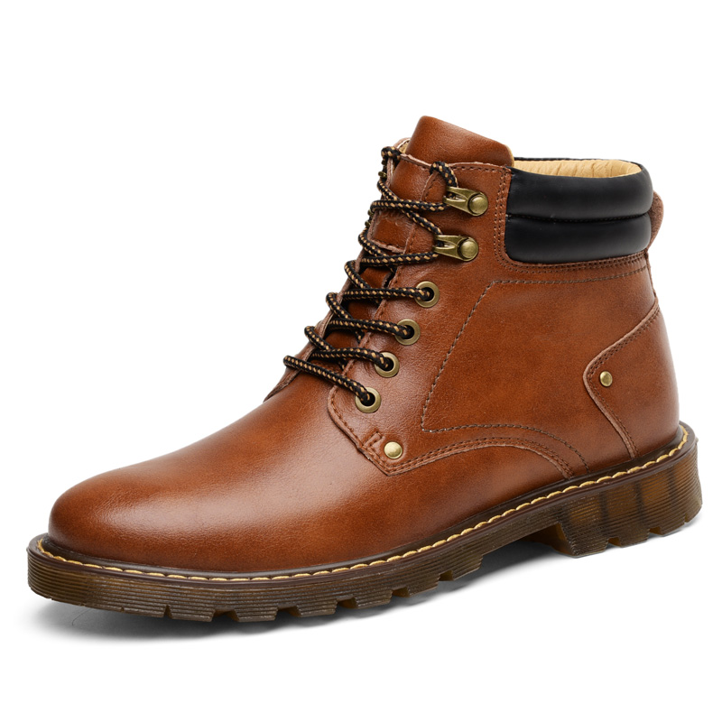 Winter <strong>Boots</strong> For Men Free Shipping Leather Shoes For Men Casual