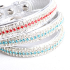 Whole sale dog collar making supplies cute personalized pet dog collar