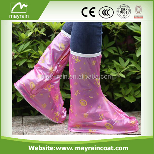 2017 Mayrain waterproof rain cover shoes for kids