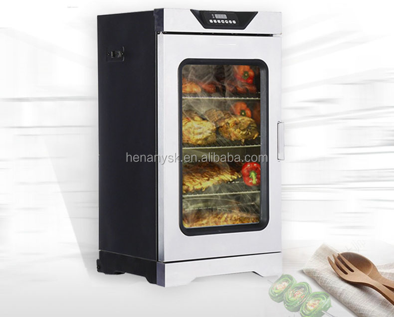Best Selling Automatic Smoked Furnace Meat Fish Sausage Smokehouse Smoking Oven