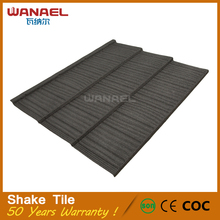 Guangzhou tiles Shake Wanael Corrugated Plastic Tile Roofing Prices
