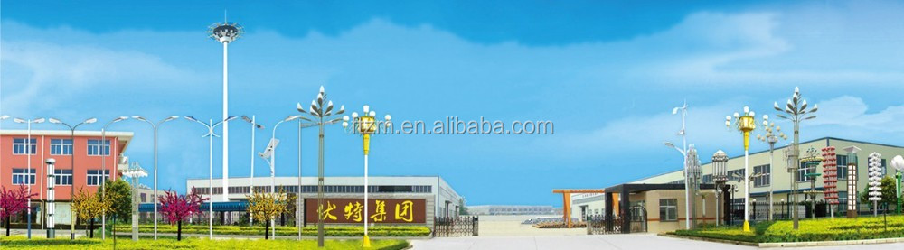 high mast lighting poles specification