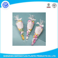 Manufacturer Custom PP Food Packaging Cone/Candy Triangle Bags