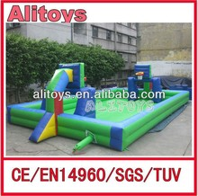 Ali 2015 inflatable soccer field/Inflatable Football Arena with CE