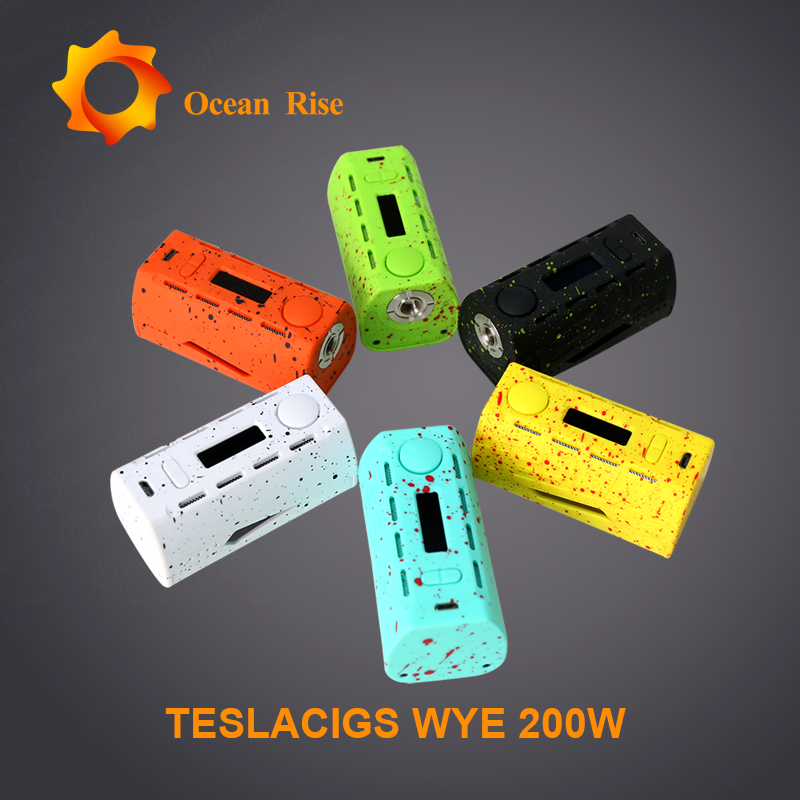 The lightest dual 18650 device Tesla WYE 200W colorful appearance vape band