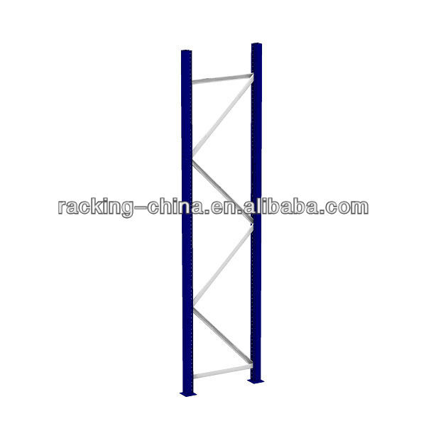 steel Racking and Shelving upright / Frame for warehouse