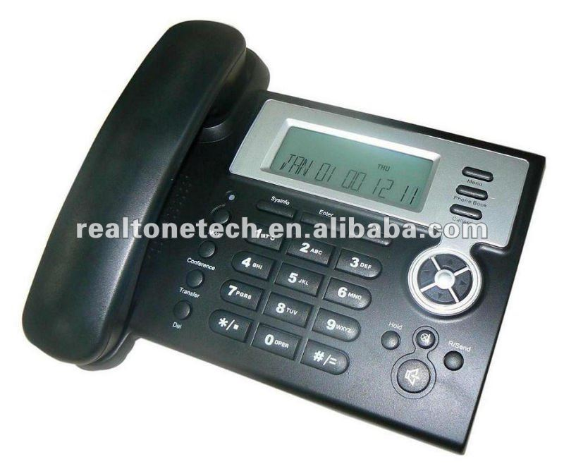 2 SIP Client IP phone