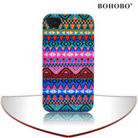Aztec tribal pattern combo case for iphone 5 aztec case