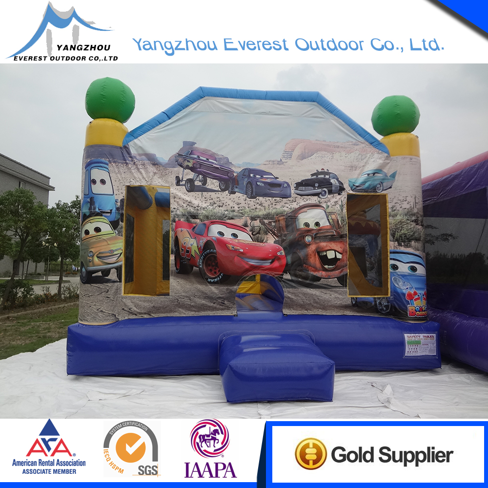 High Quality Good Service 6.2mx5.2mx4.4m indoor inflatable bouncers