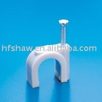(High Quality)Circle Nail Cable Clips
