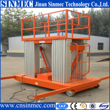 SINMEC Excellent quality Ce/ISO 10m Electric Motor lift/aluminum alloy mast lift