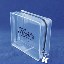 fashion clear plastic leather pvc gift cosmetic packing case