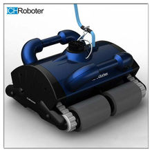Portable lightweight automatic swimming pool cleaner