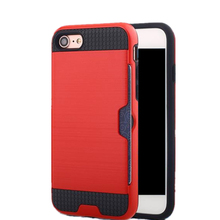 Custom Luxury Shockproof Waterproof Case Cover for iPhone 6S , Mobile Cell Phone PC Silicone Brushed TPU Case for iPhone 6S