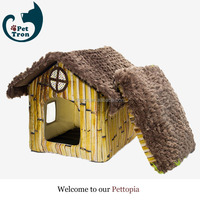 Wholesale cheap export quality promotional mini dog cage pet house
