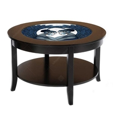 Modern Customized Hotel <strong>Furniture</strong> With Wood Round Coffee Table