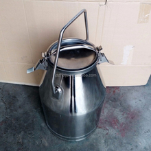 10L TO 50L Dairy Milk Cans Stainless Steel Milking Bucket