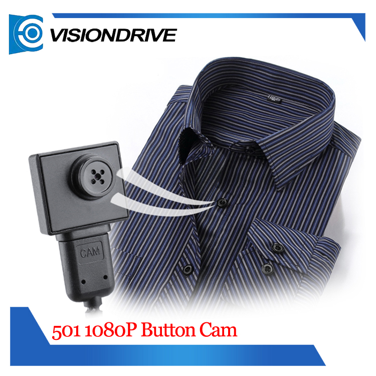 hot selling portable police hidden mini button recorder wearable cam