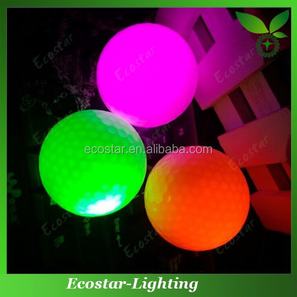 Online buy wholesale multi color golf led ball with your logo