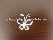 HSY 5cm colored metal butterfly