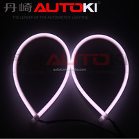 Autoki Switchback LED Flexible Tube Strips Daytime Running Lighting with White/Amber Color