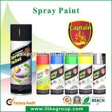 Captain Motorcycle Spray Paint
