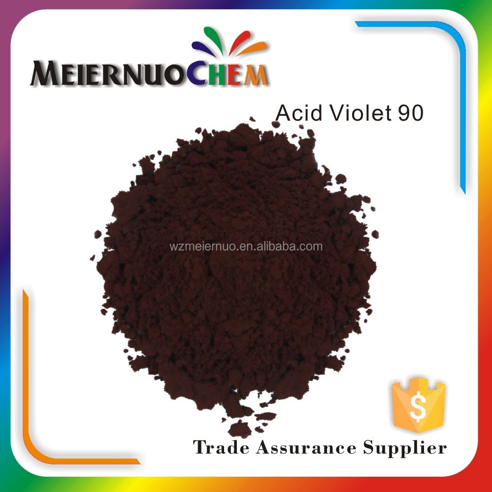 china supplier wool organic acid Violet 90 dye