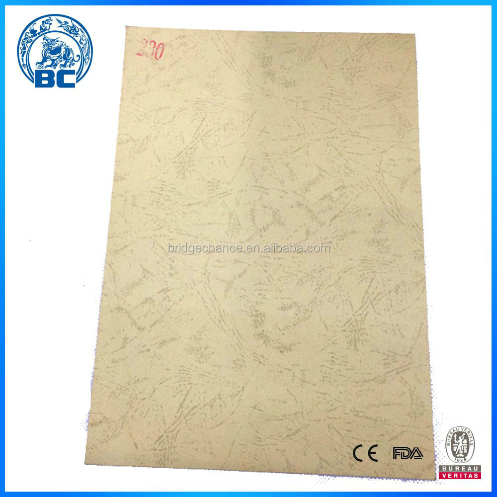 New Design Leather Grain Decorative Paper A4 Size 250gsm