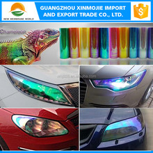 High Quality 10 colors chameleon headlight tint for car lamp