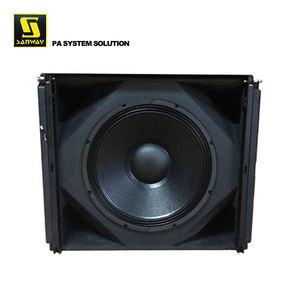 "VERA S33 18"" inch and 15"" inch drivers Outdoor Subwoofer Box Design"