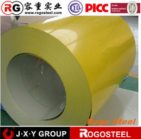 2016 building construction roofing material zinc 60g prepainted galvanized steel coil
