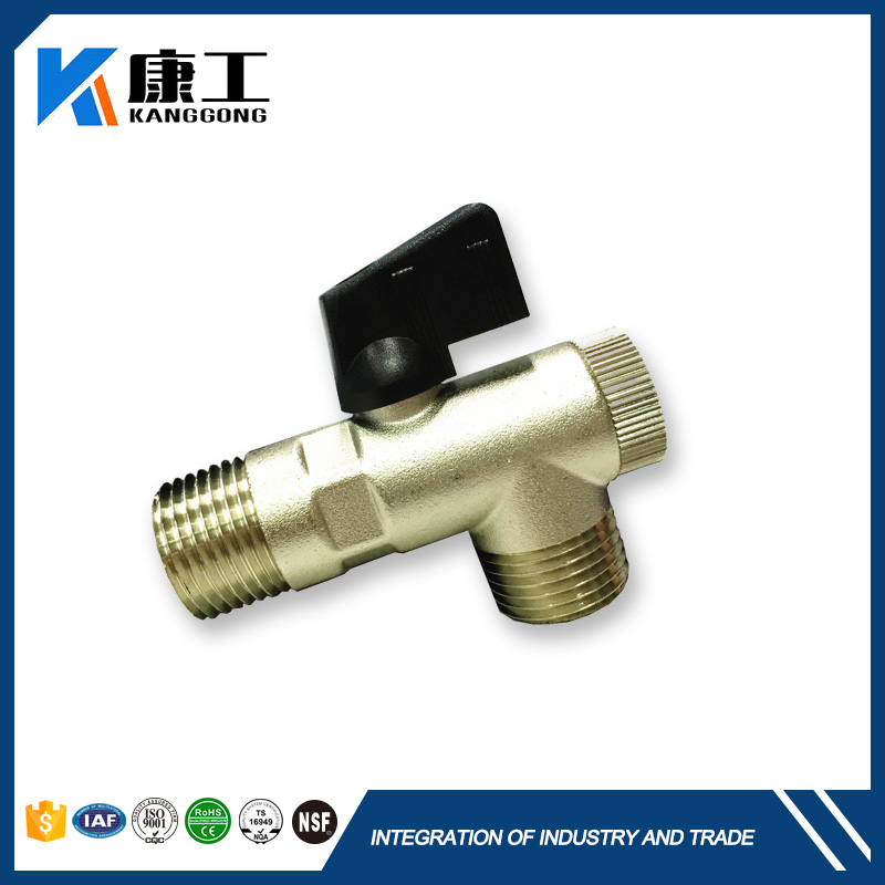 Lead Free Bronze Water Pressure Reducing Valve With Integral By Pass Check Valve And Strainer