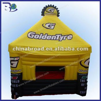 2012 HOT-selling tents with inflatable floor
