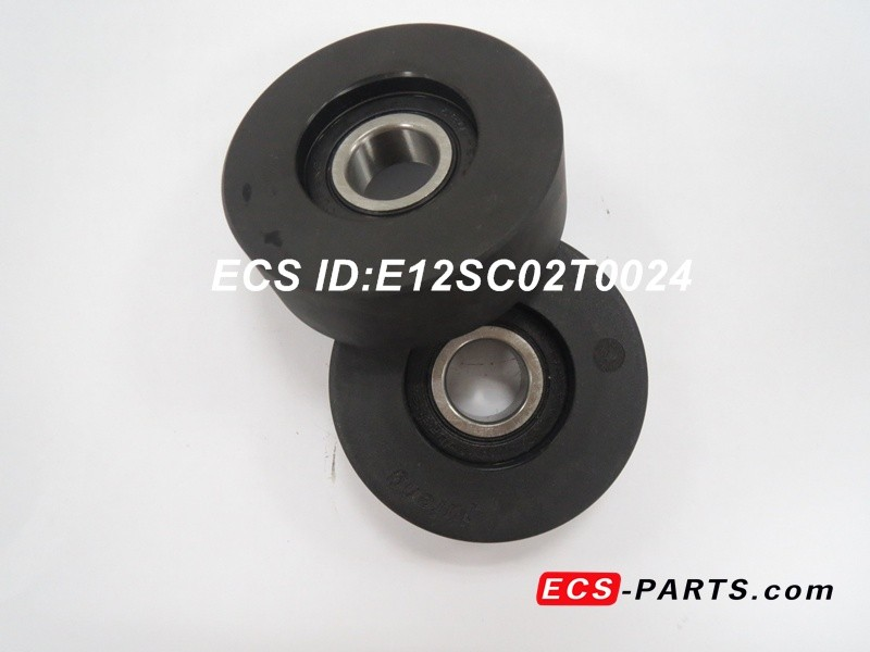 Escalator Step Chain Roller of Kone 60*24-6204RS Black