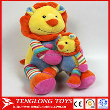 Wholesale baby products stuffed plush leo toy