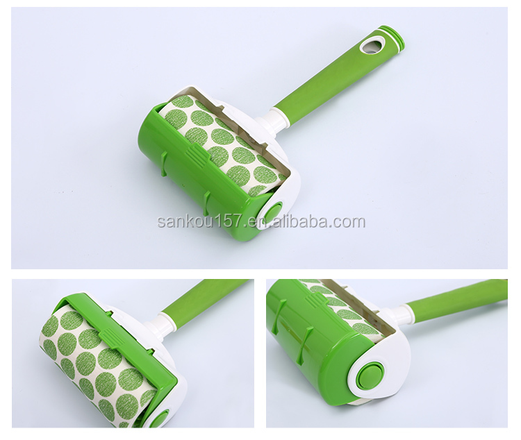 OEM/ODM factory cheap price cleaning tape with handle cute lint roller