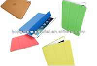 For ipad air, Imitated Genuine Leather Smart Cover, Siamesed without Magntic