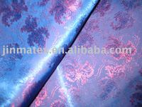 Superior two tone 100%polyester dobby shiny fabric for fashion suit