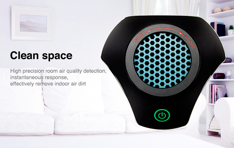 BMN168 new skillfull manufactyre Air Purifier Fresh Hepa Filter Smoke Remover Carbon Odor Allergy car air purifier