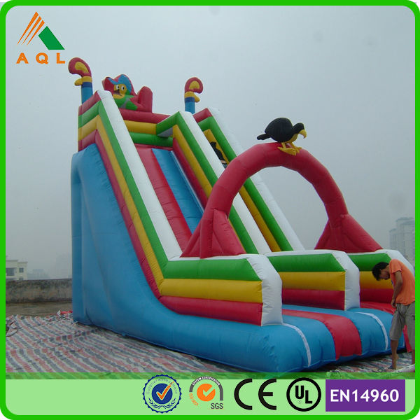 popular playground toy cheap inflatable water slides China/inflatable slides for sale