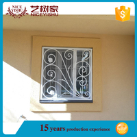 Import window grills from china manufacturer with good price modern iron window grill designs/window grill inserts