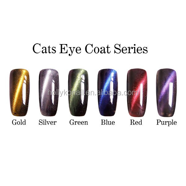 Magical Colors UV Gel Cats Eye Coat Gel Polish 15ml UV Gel Nail Wholesale